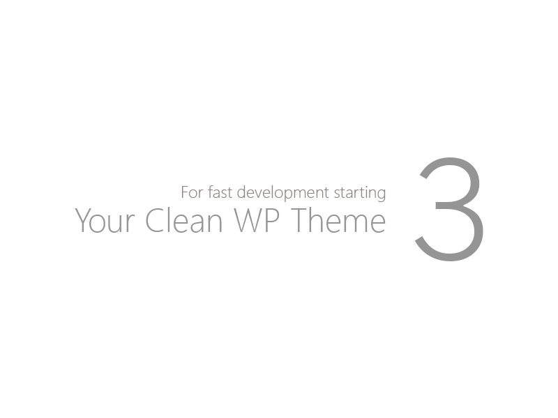 cleanup theme