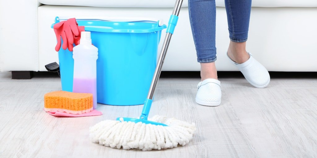 Do You Know How to Mop a Floor with a Spin or Steam Mop?