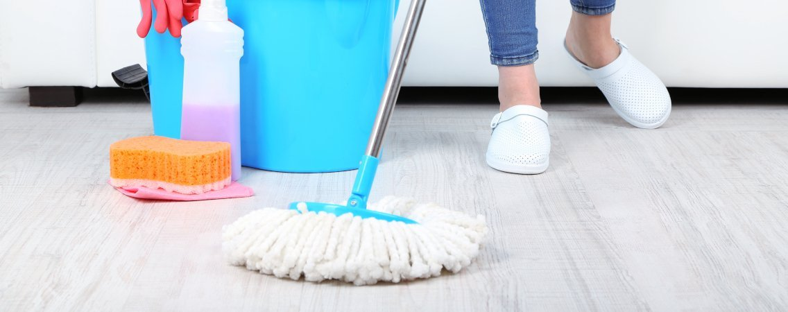 Do You Know How To Mop A Floor With Spin Or Steam