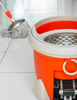 Spin Mop & Bucket