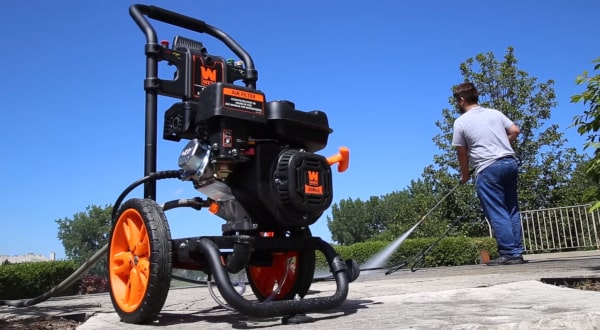 Gas pressure washer - WEN