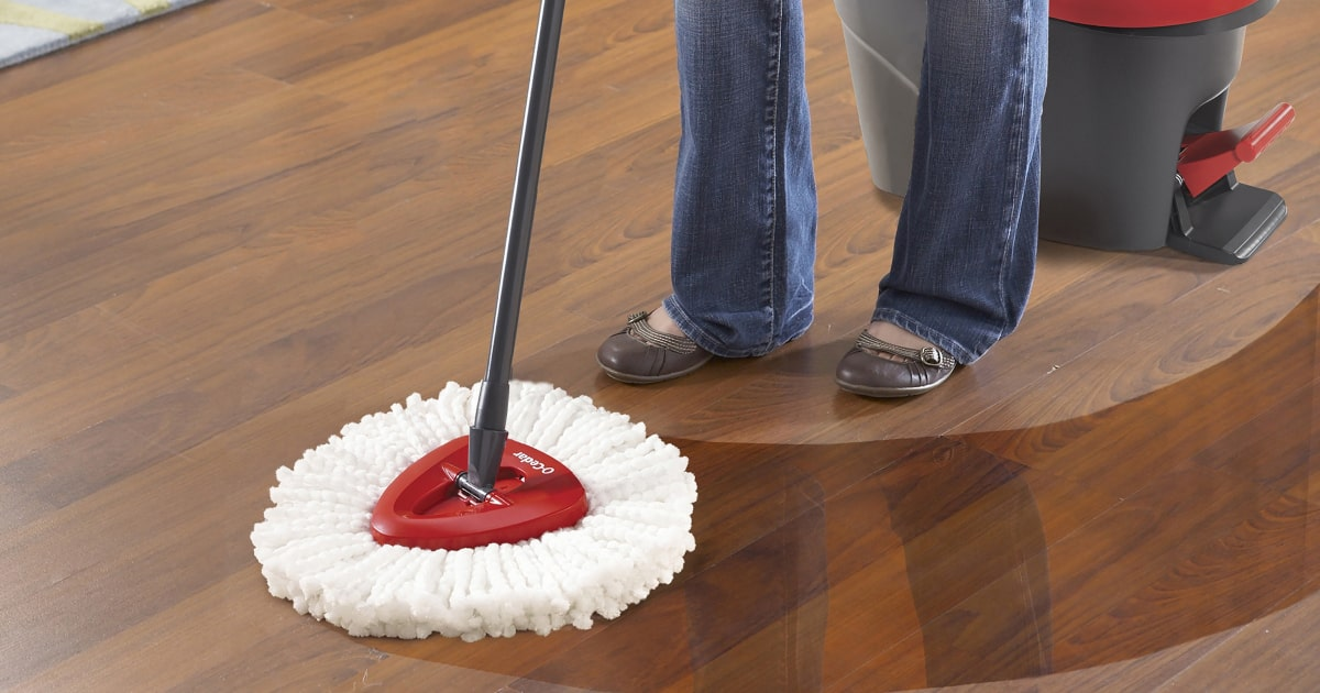 O Cedar Easywring Review Checks The Action Of This Spin Mop