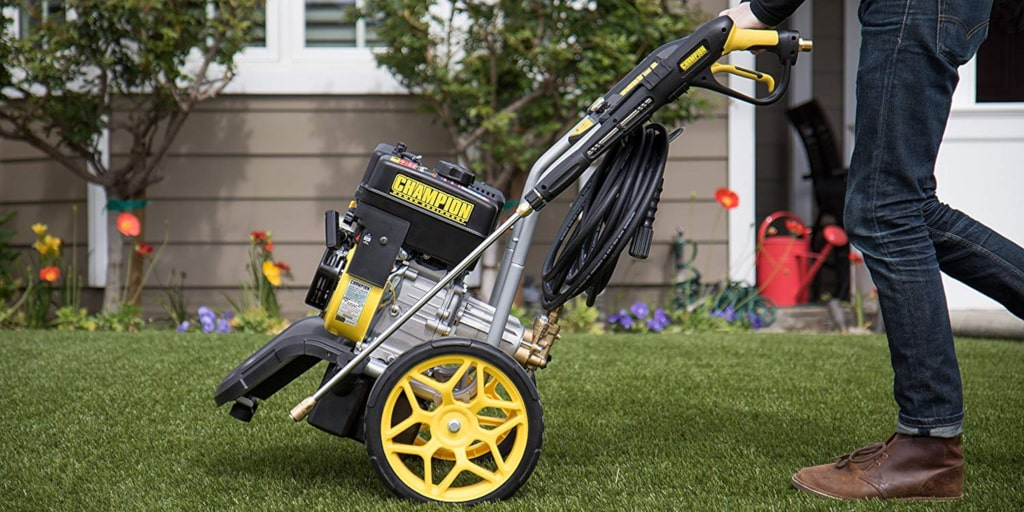 The Champion 3200 PSI Model 100384 Gas Pressure Washer - Our 2019 Review