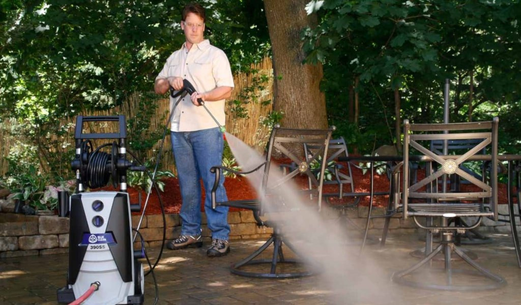 The AR Blue Clean AR390SS Electric Pressure Washer - Our 2020 Review