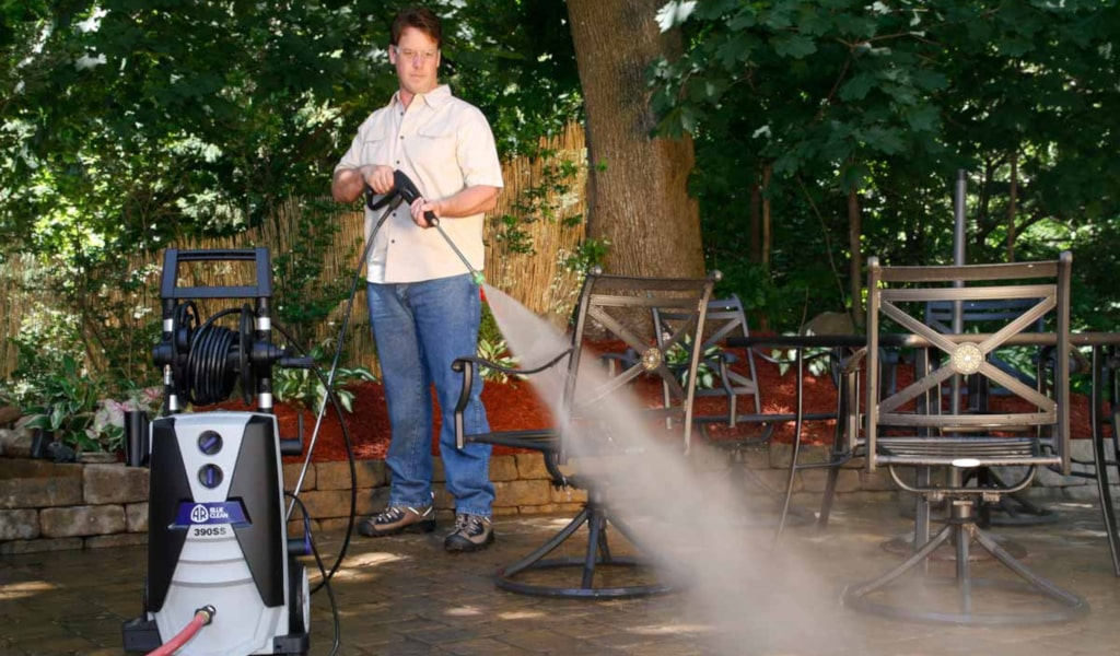 The AR Blue Clean AR390SS Electric Pressure Washer - Our 2019 Review