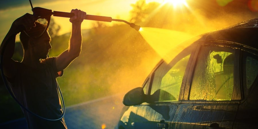 Car Pressure Washing Like a Pro