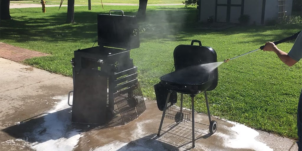 How to Clean a BBQ Grill With Your Pressure Washer