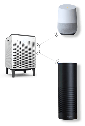 Airmega 400 could connect to Amazon Alexa as well as to Google Home