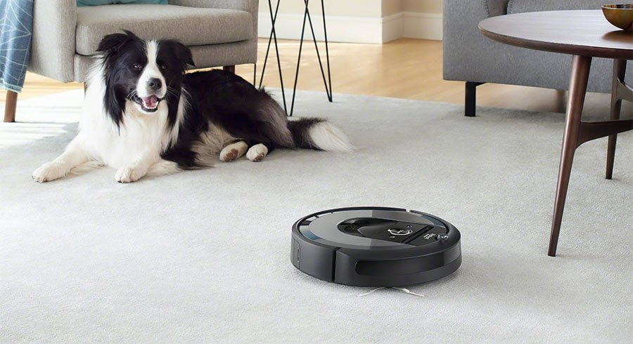 Roomba 960 at work