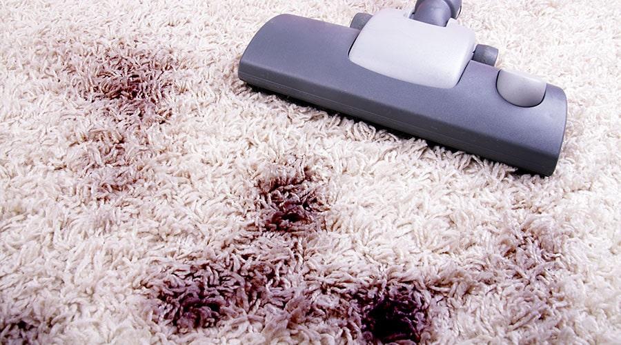 Vacuuming dust