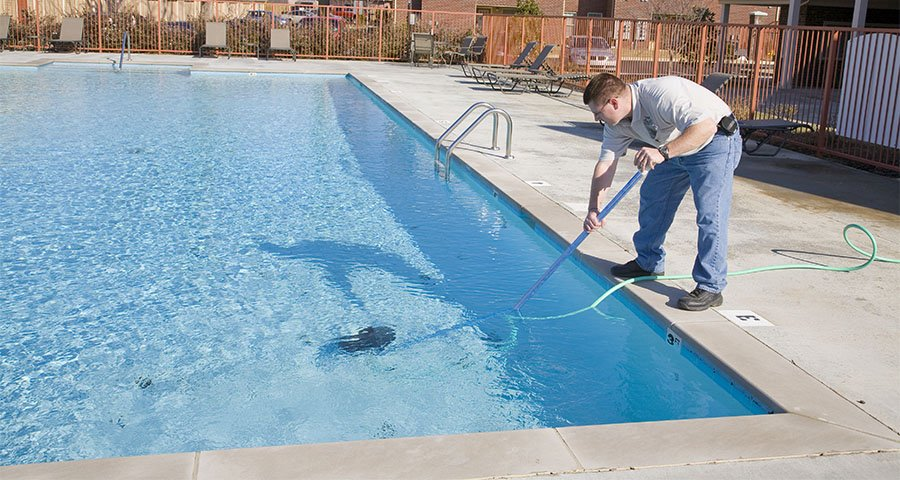 With little routine maintenance, you could keep your pool clean