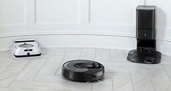 You can pair up your i7 with a Braava Jet m6 robot mop.