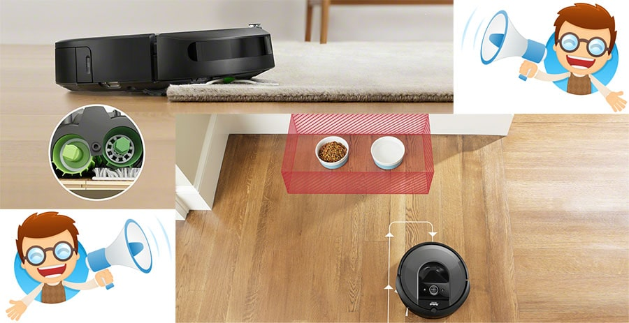 Customers are happy with improvements made in iRobot Roomba i7+.