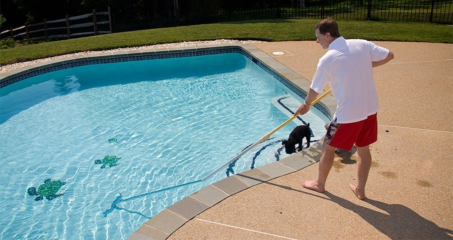 You could brush your pool too.