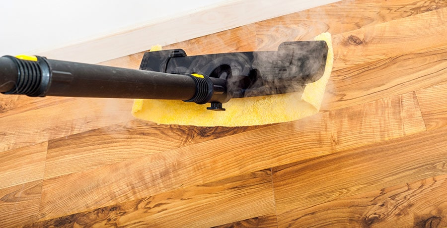 Steam Mops are only safe for completely sealed floors
