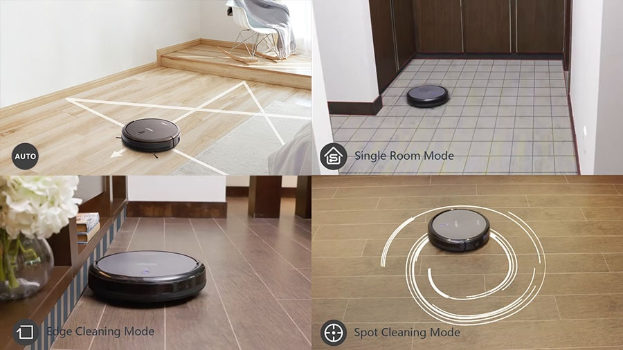 The DEEBOT N79S has 4 cleaning modes.