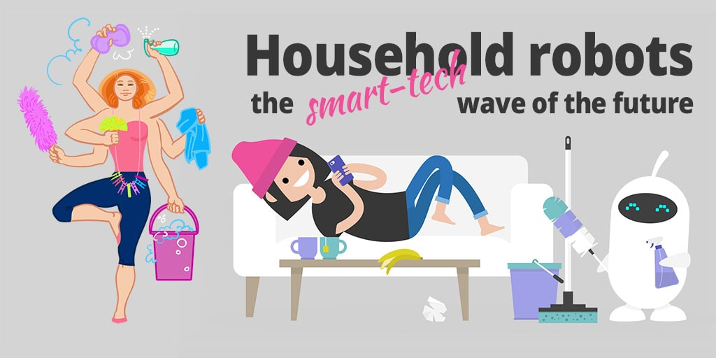 Automate Your Cleaning With 4 Types of Smart Home Robots