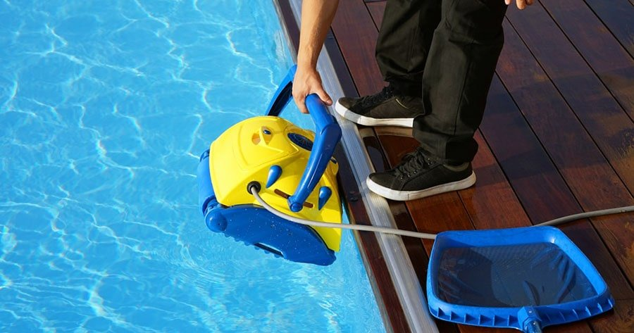 Robotic pool cleaners made pool maintenance much easier.