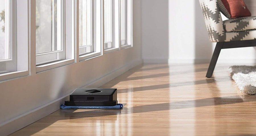 The Braava 380t isn't made for heavy-duty cleaning but could do simple light dusting and damp mopping between more thorough cleanings just fine.