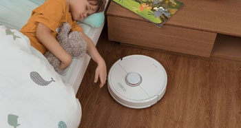 The quieter a robot vac is, the more you'll be able to tolerate it running.