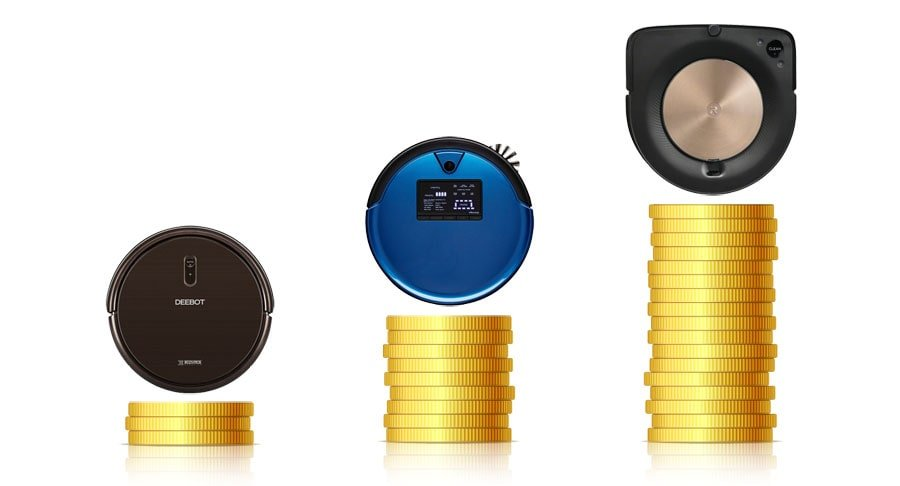 There are many models of robotic vacuums in different price ranges.