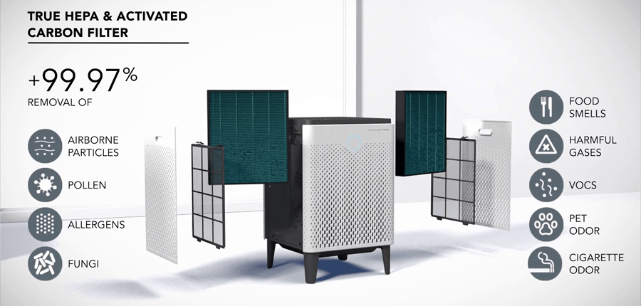 HEPA and a True HEPA filters deliver the real difference in air filtration.