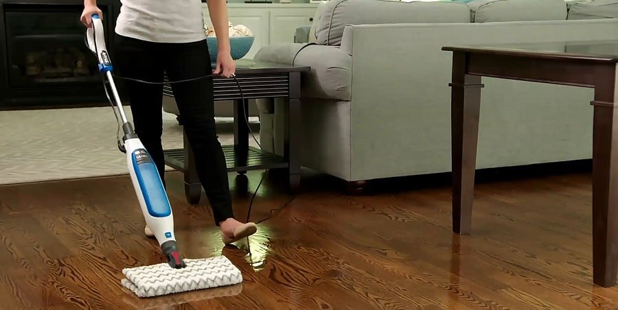 Steam Mop allows to get rid of most germs without chemicals