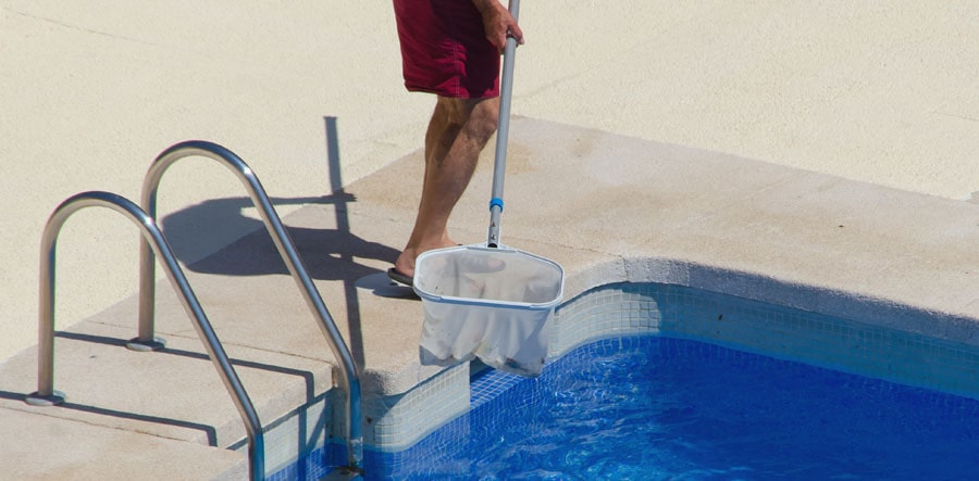 There are some cheapest options for pool cleaning, including the nets.