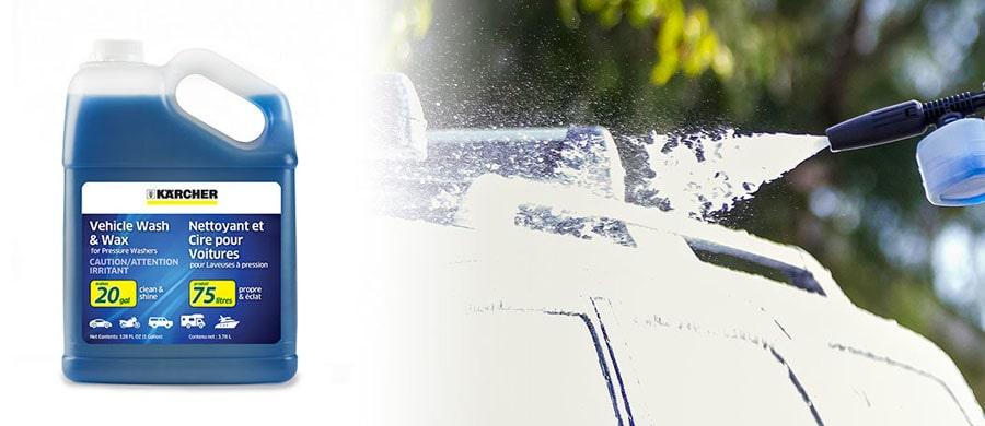 Car Wash and Wax Soap.