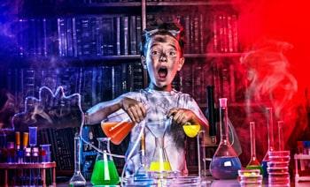 Amateur chemist.