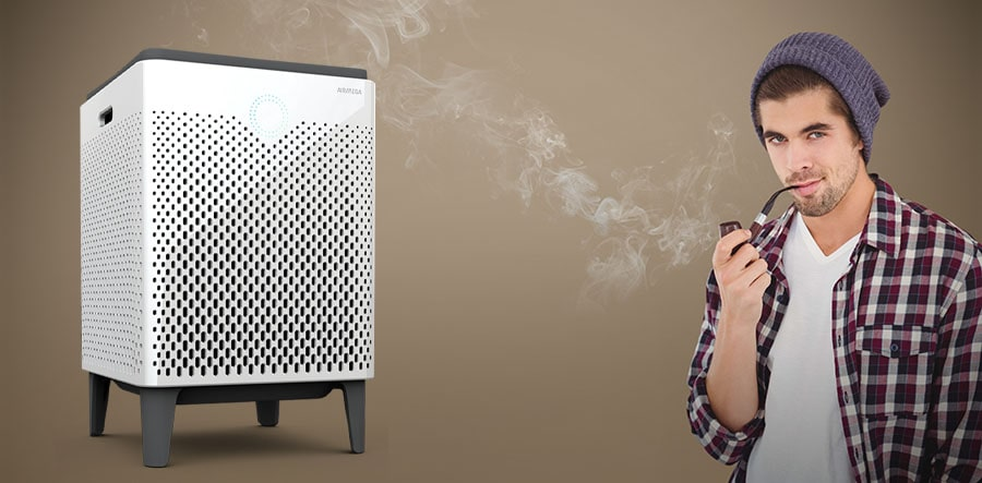 Air purifier is great for smokers.