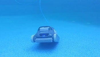 Quantum's pool scanner at work.
