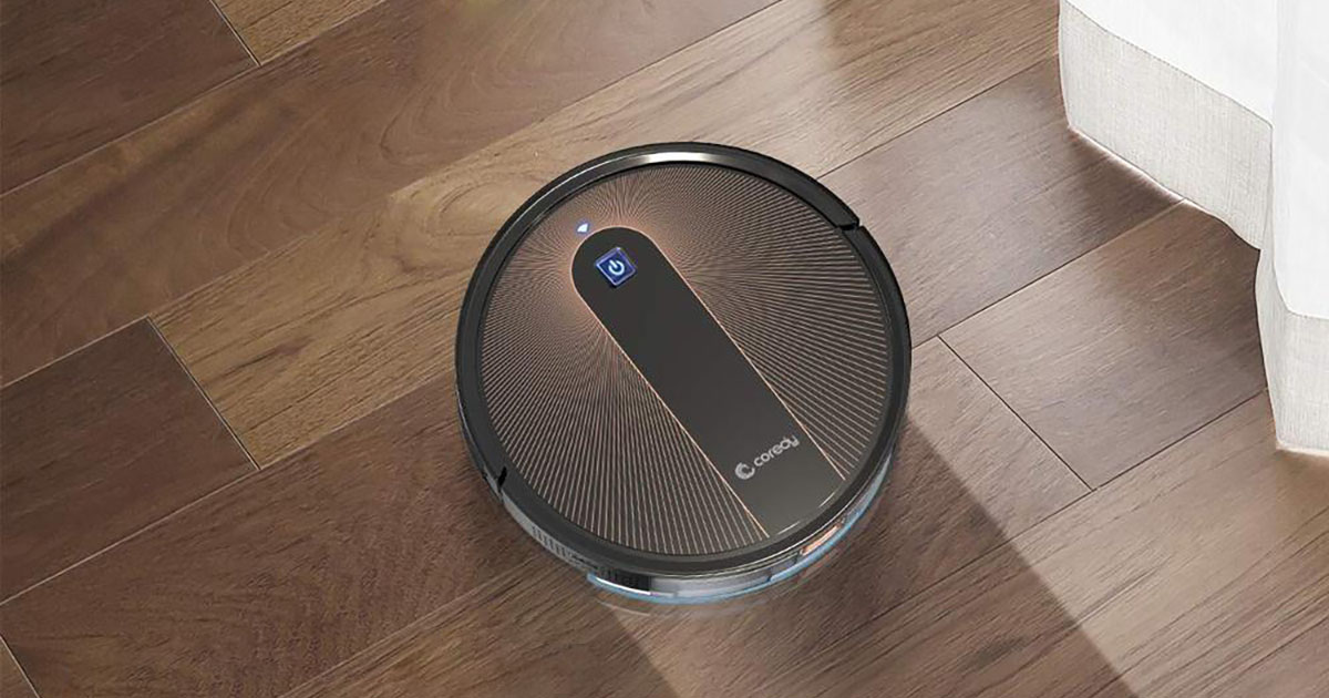 Coredy R750 Robot Vacuum and Mop - 2021 Review