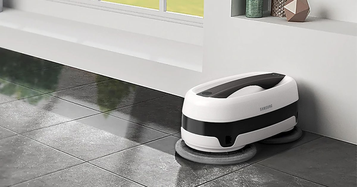 The Samsung Jetbot Mop - Cleanup Expert 2021 Review